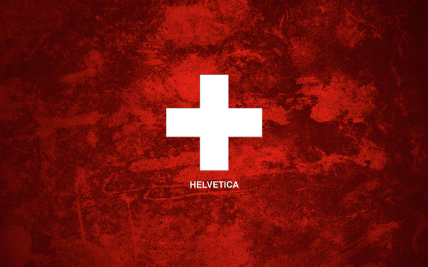 Helvetica Grunge by Oliver Wilke 60 Beautiful Minimalist Desktop Wallpapers