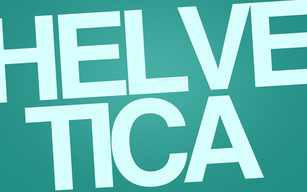 Helvetica Wallpaper by Jeremy Paillotin 60 Beautiful Minimalist Desktop Wallpapers