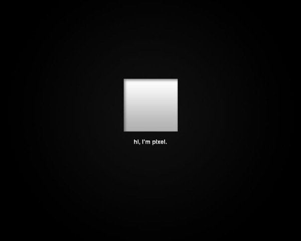Hes A Pixel by Vladislav Perge 60 Beautiful Minimalist Desktop Wallpapers