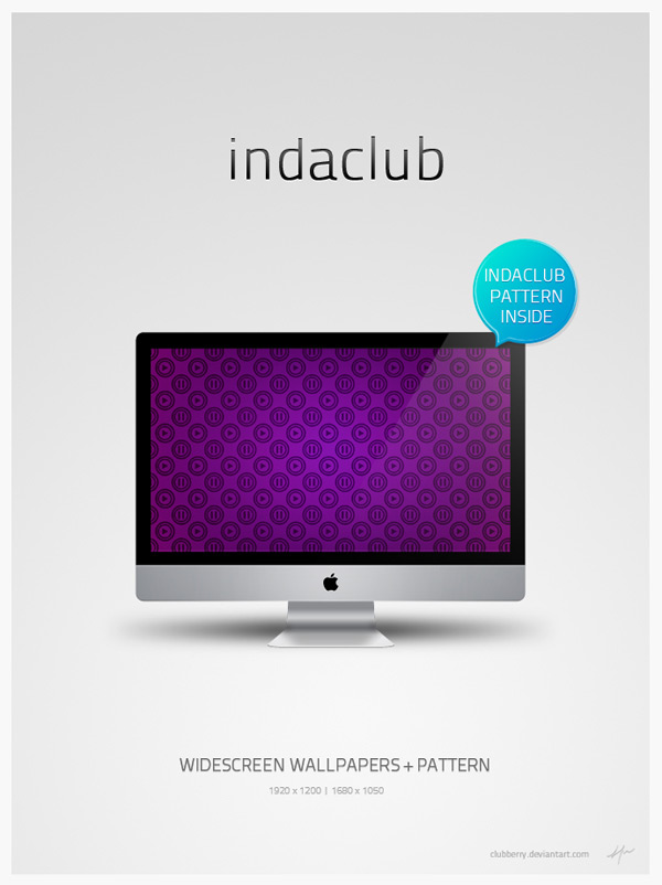 InDaClub by Fred Perry 60 Beautiful Minimalist Desktop Wallpapers