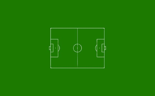 Soccer Field by Sondre Stensbol 60 Beautiful Minimalist Desktop Wallpapers
