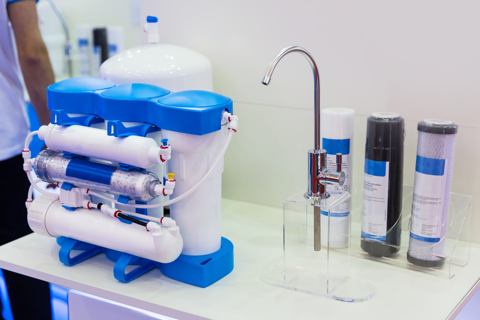 Reverse osmosis, water cleaning filter